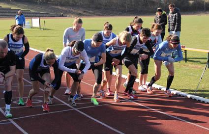 Auf los geht s los 10 000m start im letzten jahr volke foto